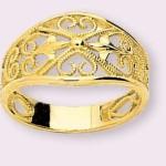 كيف تحافظين و تنظفين مجوهرات الفانتازيا أو المجوهرات المطلية بالذهب