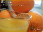 عصير البرتقال بماء الورد: