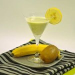 عصير الكيوي و الموز: