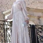 لباس مخصص للمحجبات  للأعراس(موضة 2015)