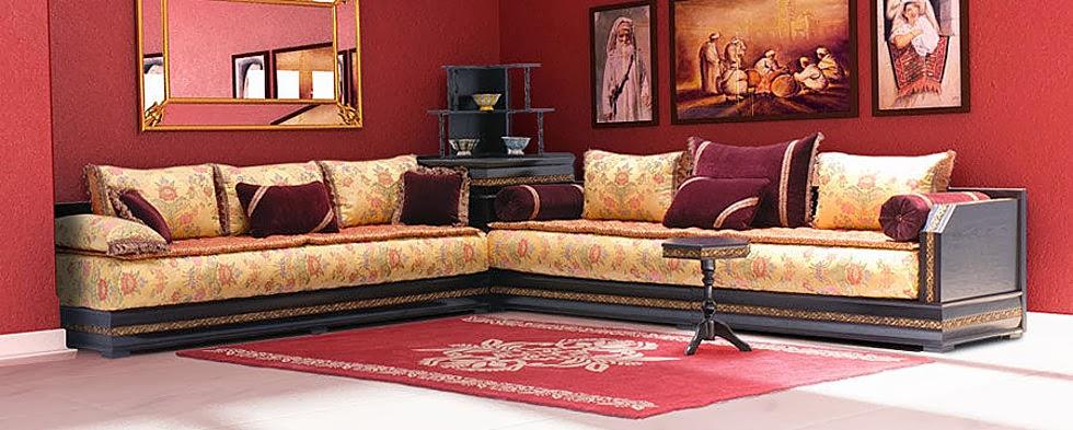 Salon Marocain Rouge Et Noir 2015 : أحدث موديلات الصالون المغربي التقليدي و العصري جزائرية نت