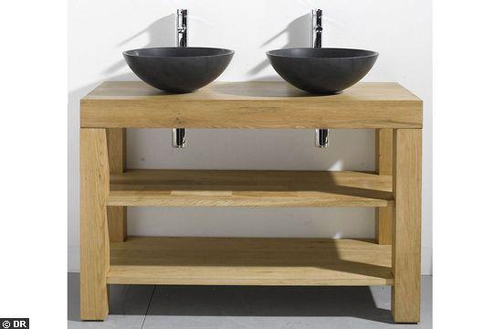 Salle de bain for Meuble salle de bain sous vasque a poser