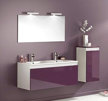 Salle de bain for Meuble de salle de bain castorama