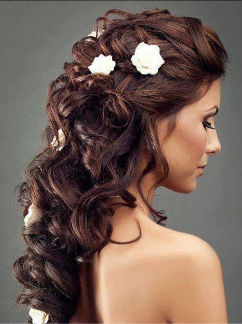 coiffure de mariée2016