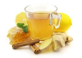 شاي الزنجبيل و القرفة والليمون