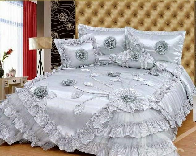 موديل جديد لأفرشة غرف النوم