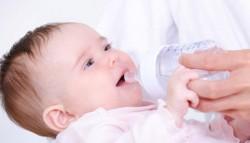 allimentation chez le bébé de 4 et 5 mois