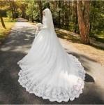 robe blanche pour les voilées