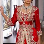 أجدد موديلات القفطان المغربي تصاميم 2016