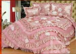باقة من أروع و أجمل المفروشات لتزيين غرف النوم للعرائس جديد2016
