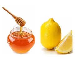 عصير الليمون و العسل الطبيعي