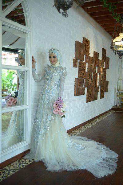 Robe mariée blanche voil