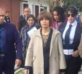 حارسة الوزيرة هدى إيمان فرعون