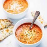 حساء الطماطم Velouté de tomates