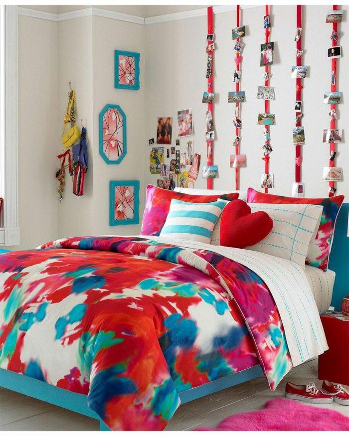 chambre d'ados couleurs mélanger