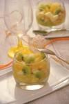 سلطة الفواكه بالبرتقال و الكيوي