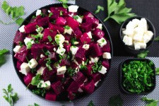 salade de betrave et fete