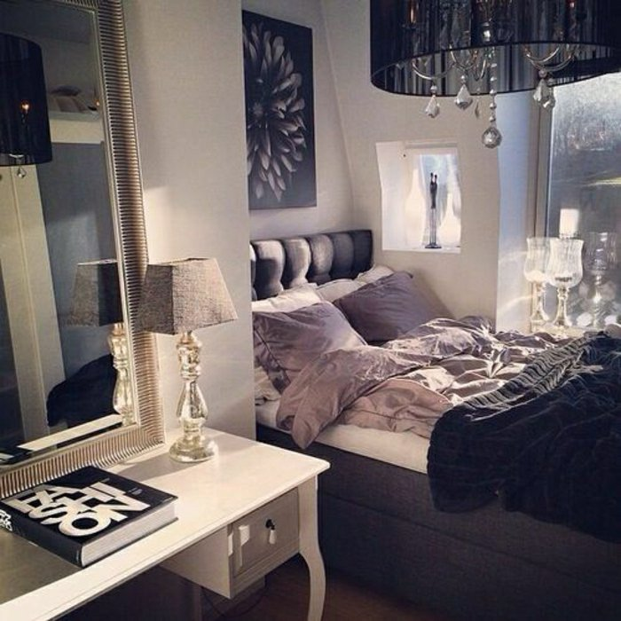 Beautiful Decoration Chambre Baroque Moderne Photos - Seiunkel.us ...