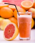 jus de pamplemous et orange et brugnon