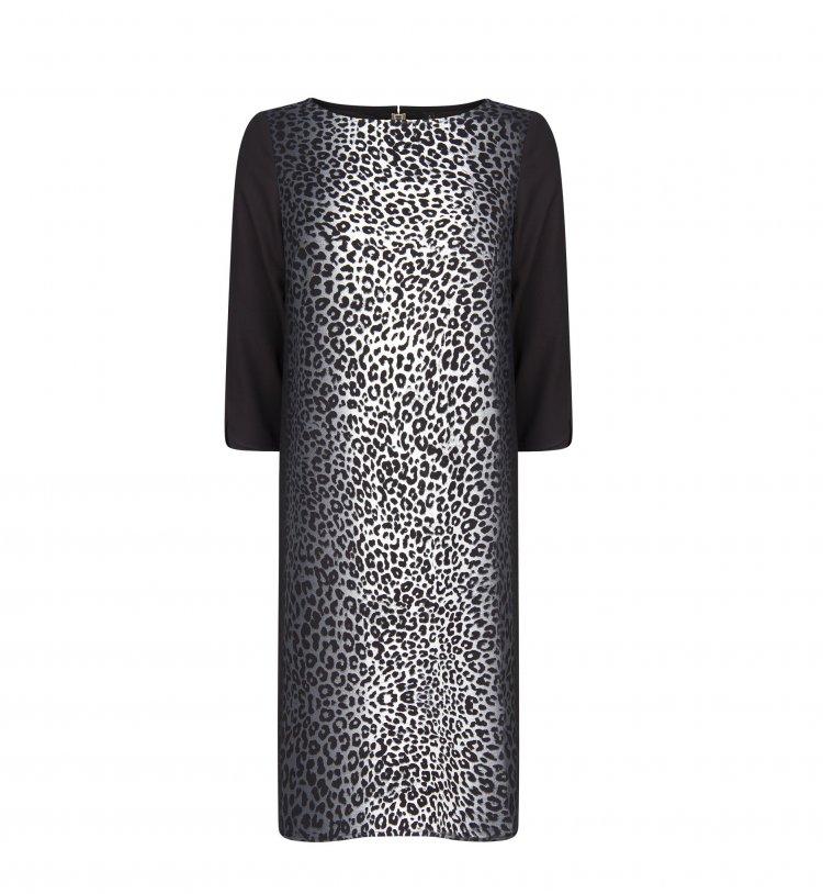 mango robe leopard