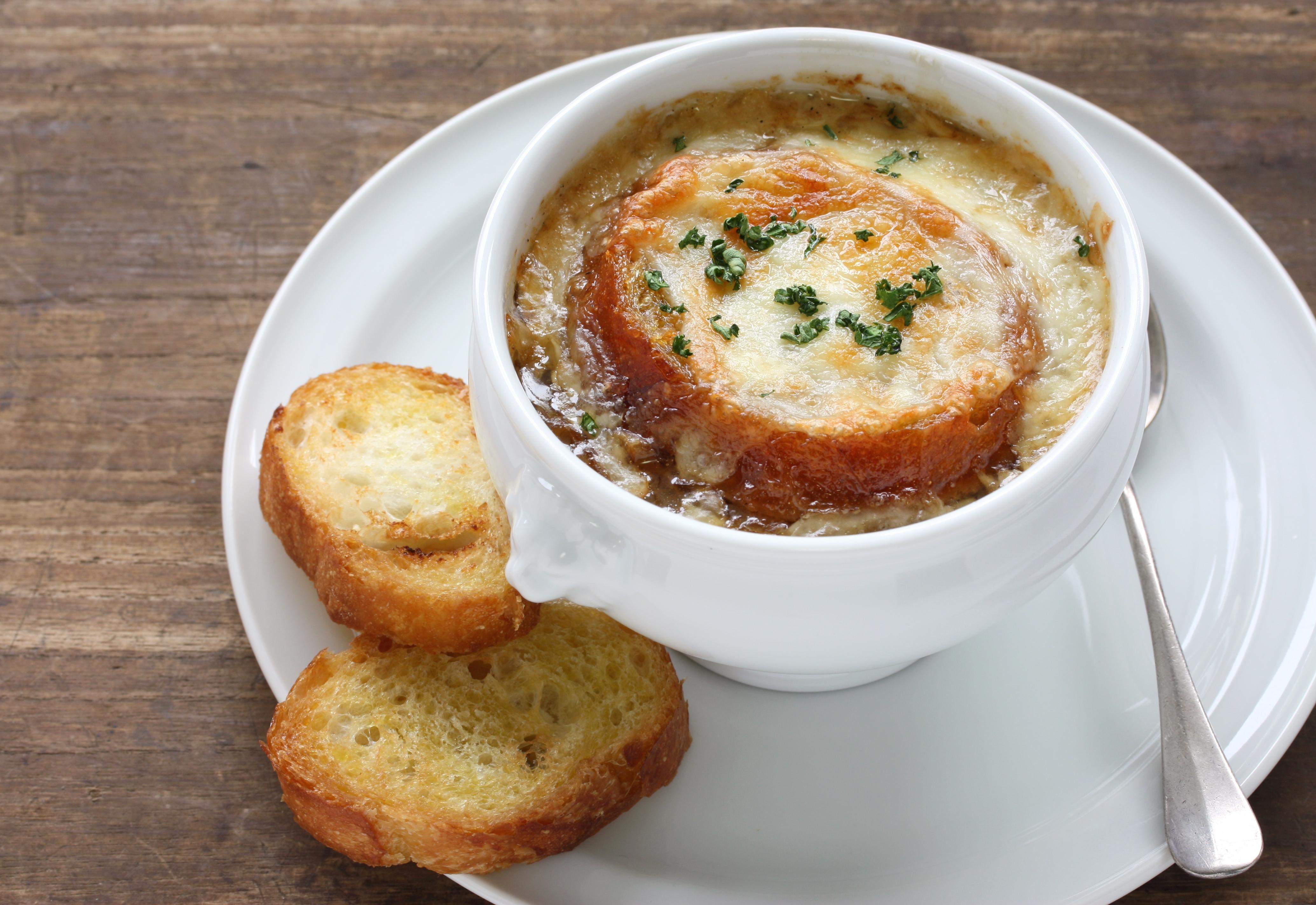 soupe d'oignon