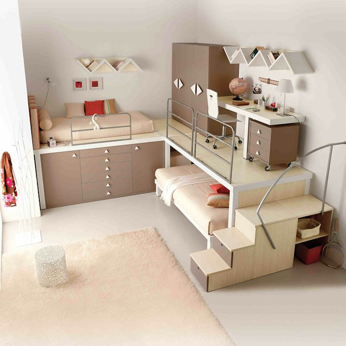 chambre des enfants les nouveautes pour petites et grande filles chambre beige