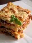 لازانيا بالجبن و اللحم المفروم